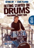 Tommy Igoe Getting Started on drums dvd