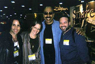 Gregg Gerson, Kevin Ricard, Carlos Hatem, Pam Gore