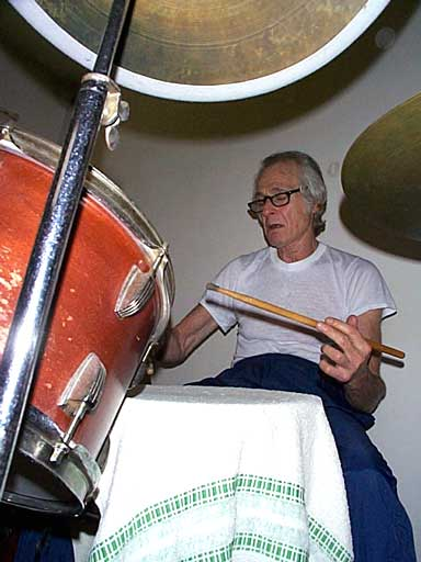 Freddie Gruber - legendary drum instructor of Steve Smith, Neil Peart, Dave Weckl, and more!