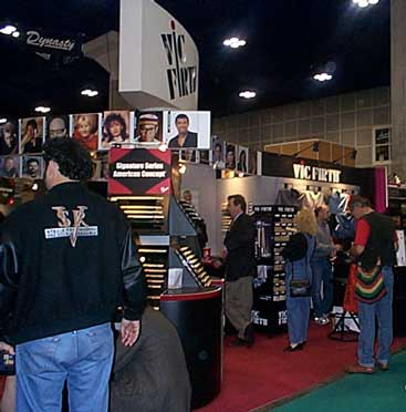 The Vic Firth Booth