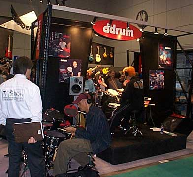 The ddrum Booth