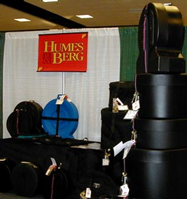 Humes & Berg drum cases