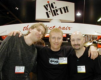 Tommy Igoe, Gregg Bissonette, Steve Smith