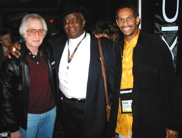 "Freddie Gruber, Bernard ""Pretty"" Purdie, Mike Smith"
