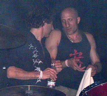 drummers Simon Phillips & Kenny Aronoff