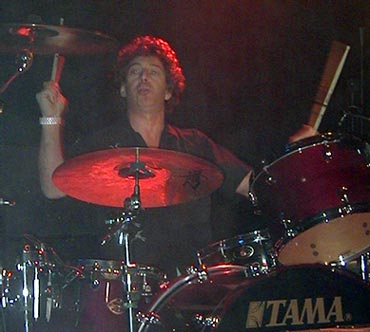drummer Simon Phillips